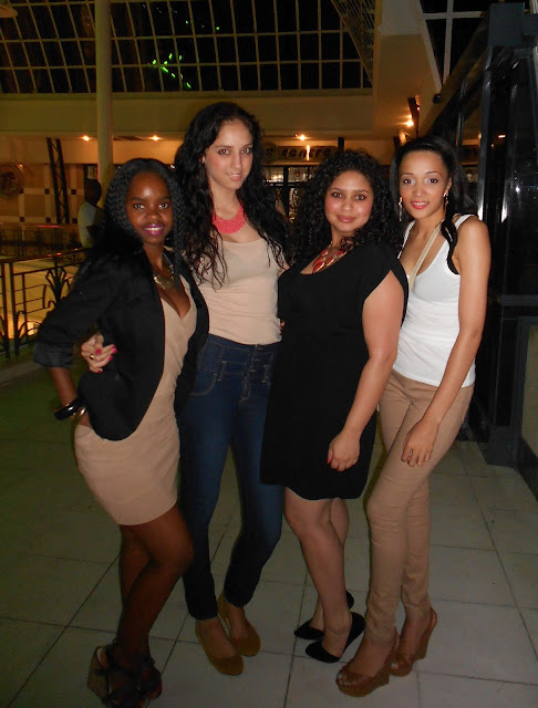 Girls Night Out on National Cleavage Day