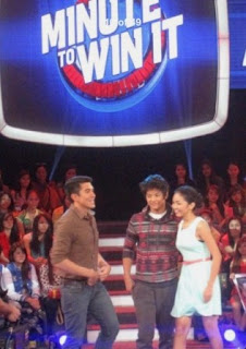KathNiel Minute to Win it with Luis Manzano