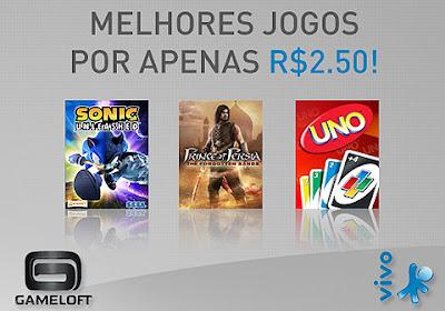 promo_v_g [Sinal de mudança] Gameloft oferece jogos a R$ 2,50 para clientes da Vivo