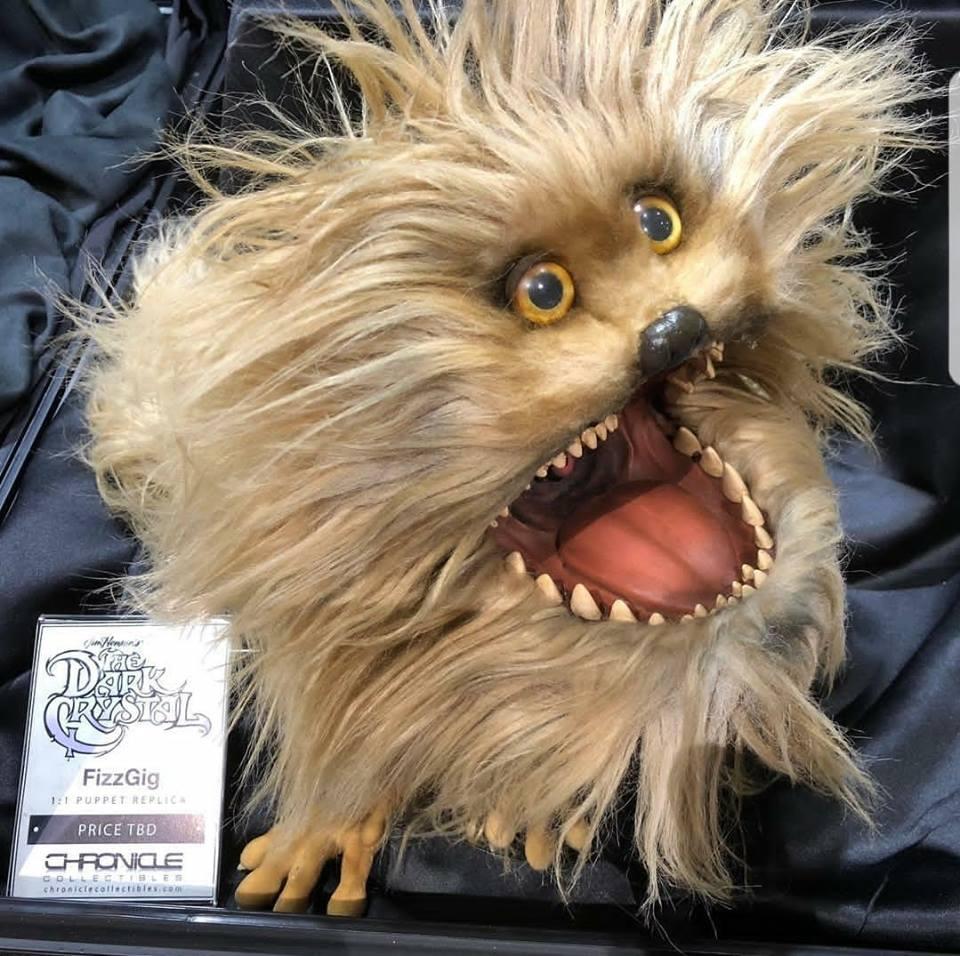 SDCC The Dark Crystal Fizzgig Puppet Replica Plush Figure 1:1 Scale Jim Henson