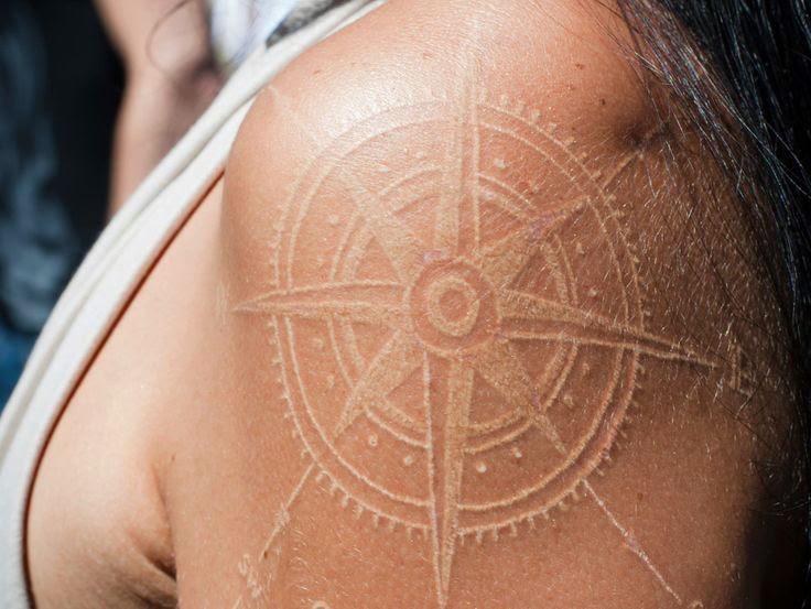 Tattoo White Ink