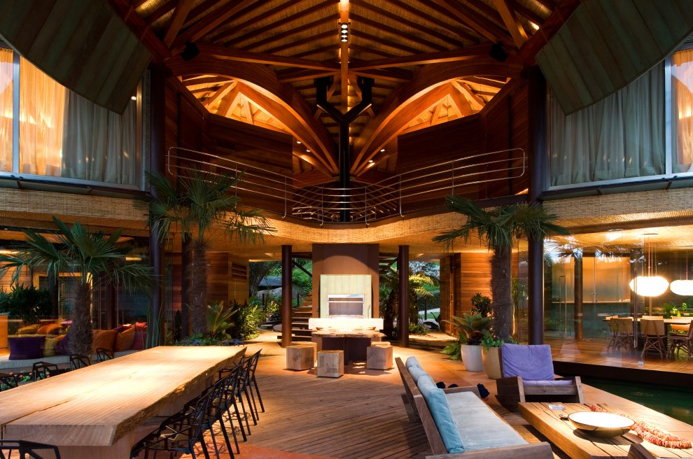 Tropical house design rio de janiero brazil most for Brazilian house music