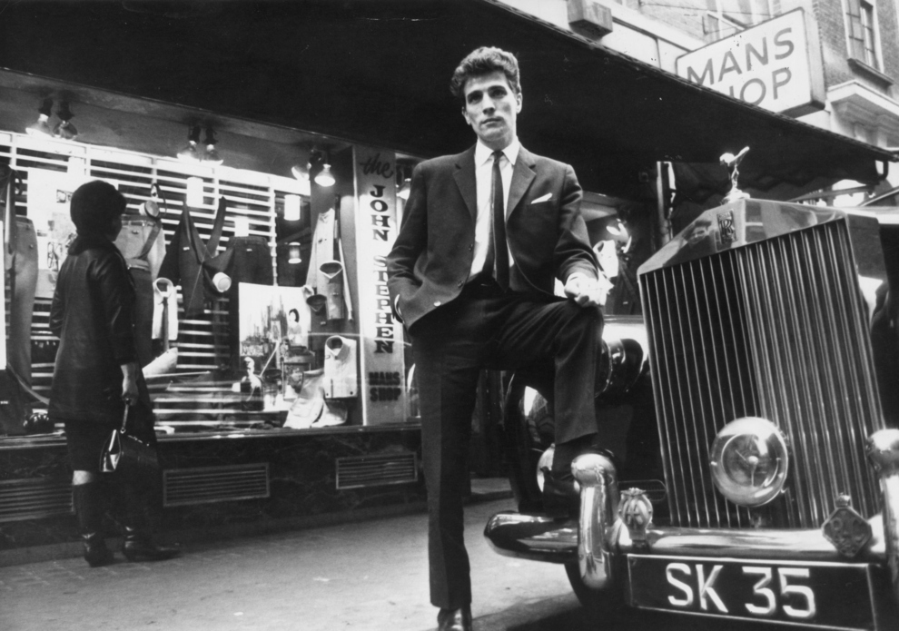 Modernist Society Carnaby Street Photo February 1964 Tailor John Stephen With His Rolls