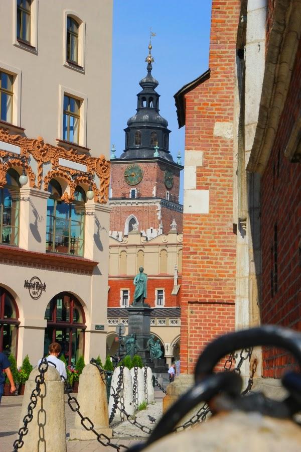 Kraków Wieża Ratusz