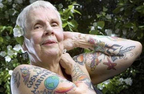 Ancianos con tatuajes, http://distopiamod.blogspot.com