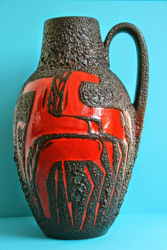 Mid2mod West German Pottery Scheurich