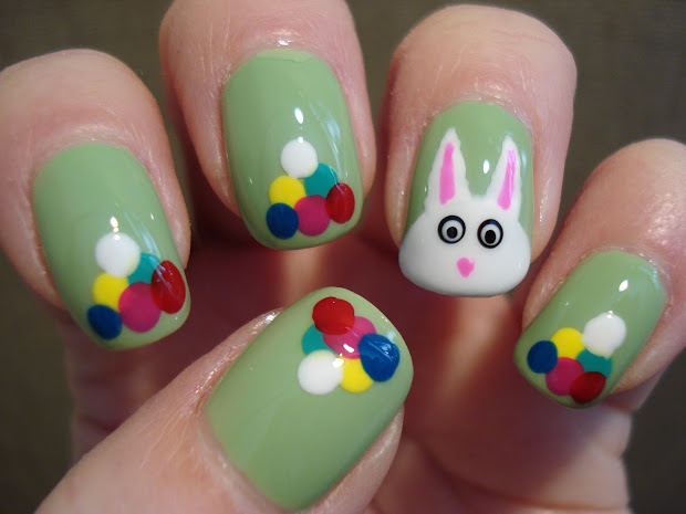 little nailpolish easter