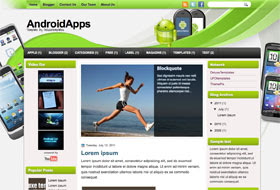 AndroidApps Blogger Template