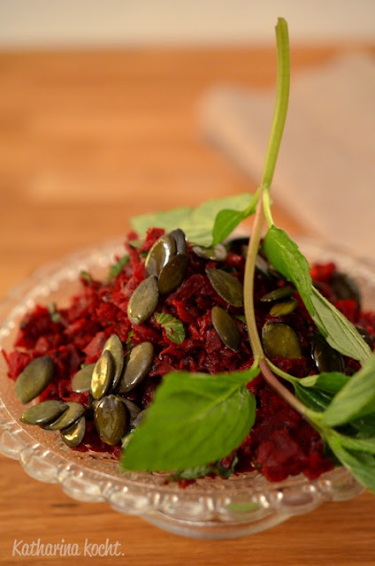 Rote Bete Ingwer Minze Kürbiskerne Macadamiaöl