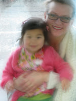 Harpa Hua Zi og mamma Hrönn