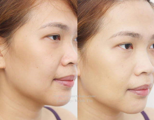Artistry Ideal Radiance Illuminating CC Cream before and after photo