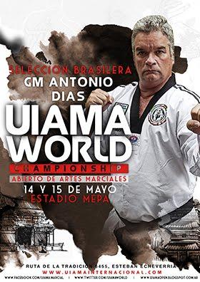 MAESTROS Y TECNICOS PRESENTES EN EL UIAMA WORLD CHAMPIONSHIP 2016