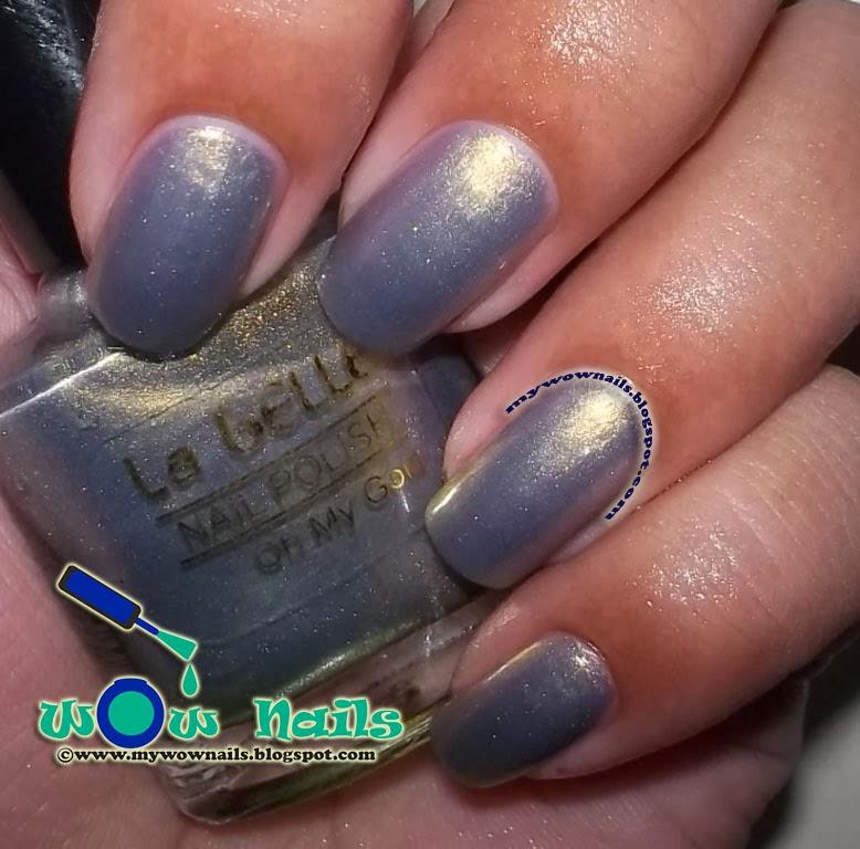 Nail La Belle: WoW Nails: La Belle Oh My Gold