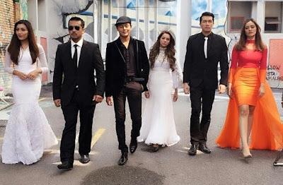 Raja Ilya, Ungku Ismail Aziz, Tunku Hanis, Nazim Othman, Zain Hamid, Emelie Hanif, Lia Natalia, Raja Ema