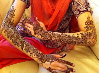 latest mehndi collection for girls