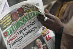 Ansaru Kills 7 Kidnapped Foriegn Hostages