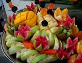 Cascata de frutas.