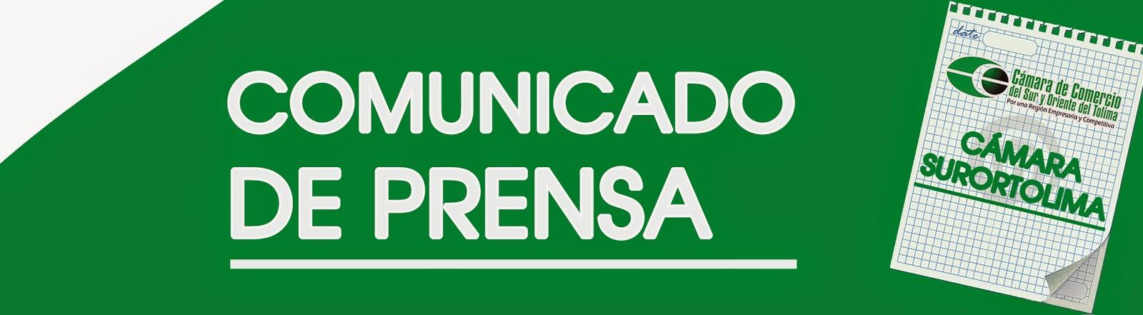 Blog de la Cámara de Comercio Sur y Oriente del Tolima: abril 2015