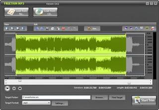برنامج تقطيع ملفات الصوت trim mp3