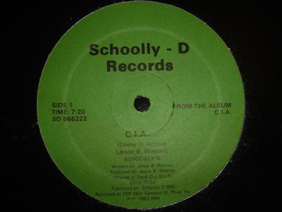Schoolly D – C.I.A. / Cold Blooded Blitz (VLS) (1985) (320 kbps)