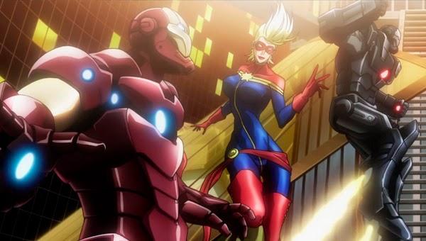 Los Vengadores en 'Avengers Confidential (Los Vengadores: Justicia y Venganza)'