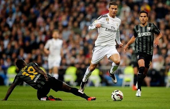 Results: Real Madrid 3-1 Malaga