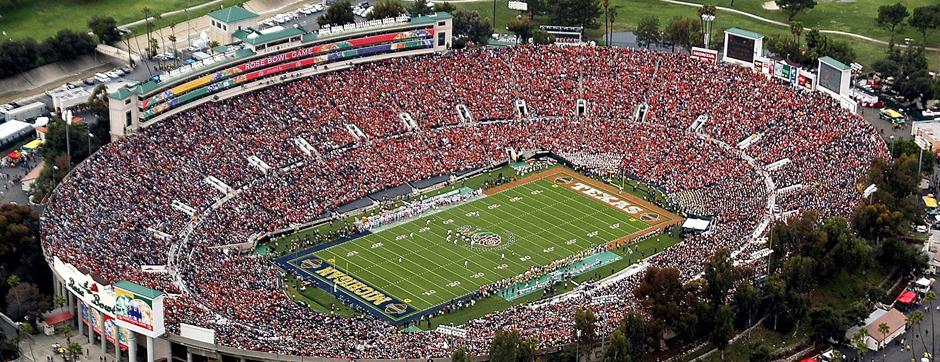 Rose Bowl (Los Angeles)  O estádio que recebeu a final da Copa de 94 2555f6d16cee8