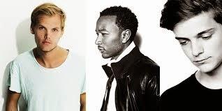 Avicii faz parceria com John Legend e Martin Garrix