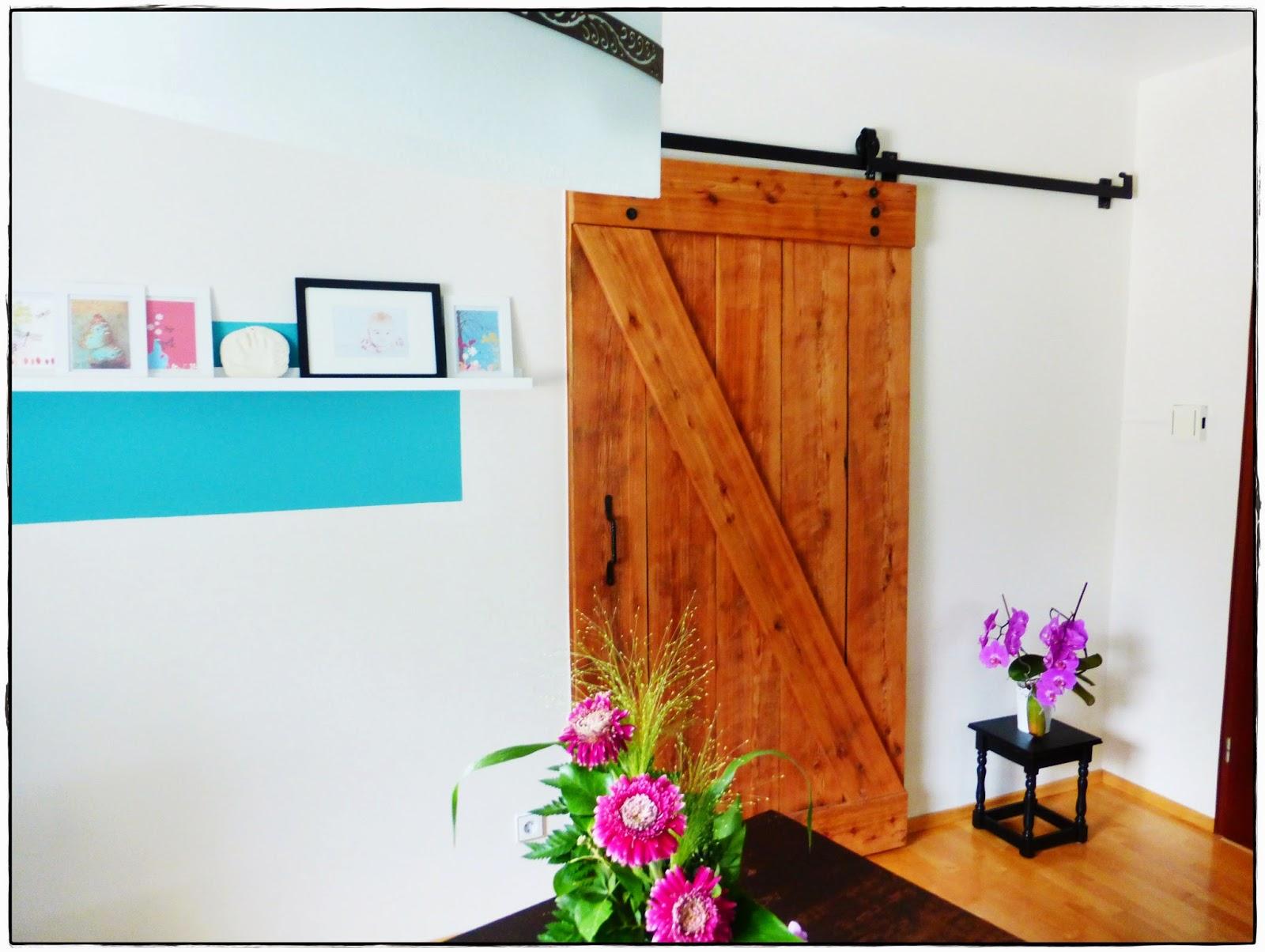 DIY Scheunentor selber  bauen Interior Wohnen