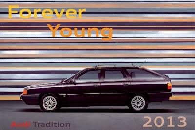 Divers : Le calendrier Audi Tradition millésime 2013
