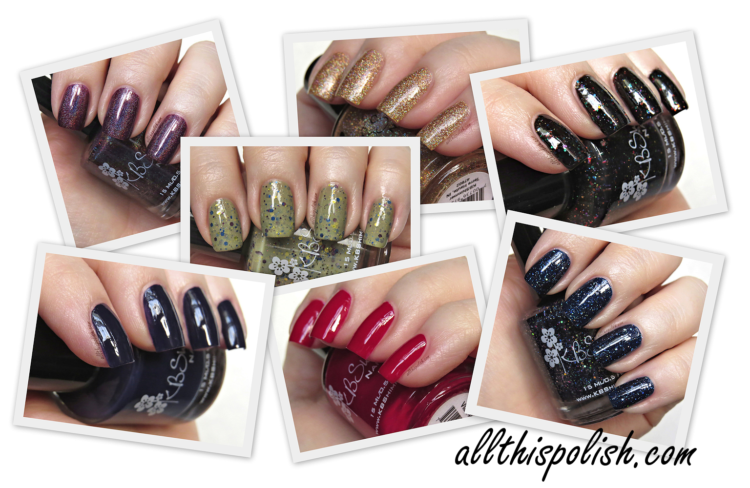 All This Polish: KBShimmer Fall 2015 Collection