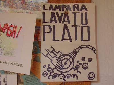 Mi mano de yeso diario mural y letreros - Carteles de cocina ...
