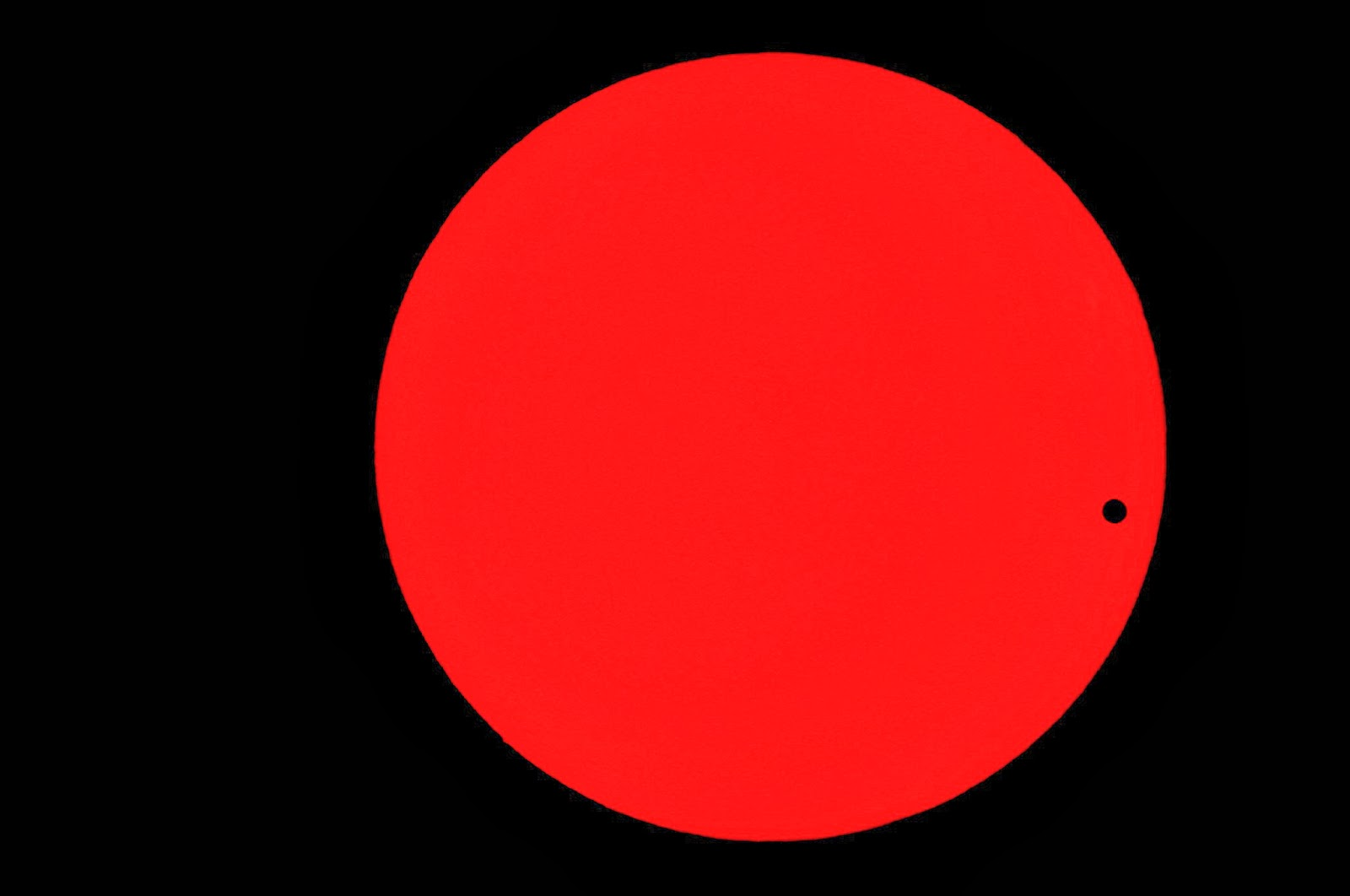 The transit of Venus 2004