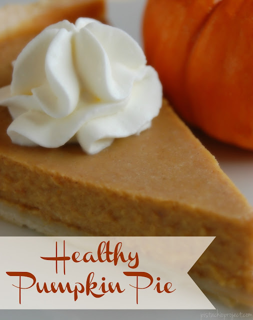 Healthy Pumpkin Pie - what if I told you that you could have your pumpkin pie without feeling like you cheated your healthy way of eating? #pumpkinpie #healthy #pie #falldessert #thanksgiving #pumpkin #refinedsugarfree