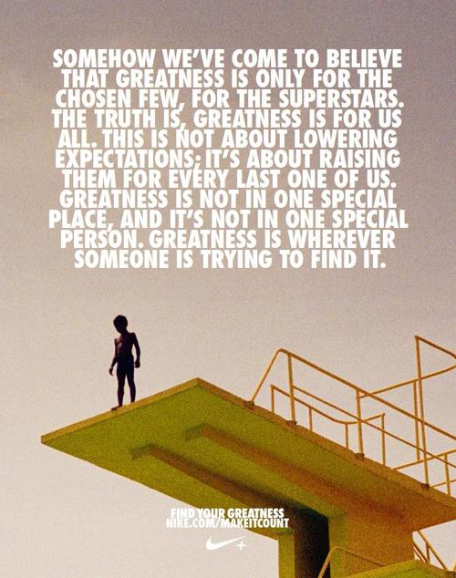 Nike Quotes Greatness Penonton: Nike: Find Y...