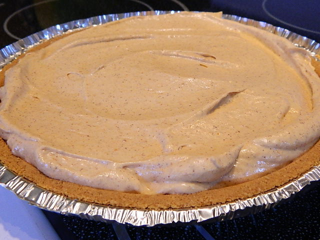 Pattitudes: Pumpkin Spice No-Bake Cheesecake {Crazy Cooking Challenge}