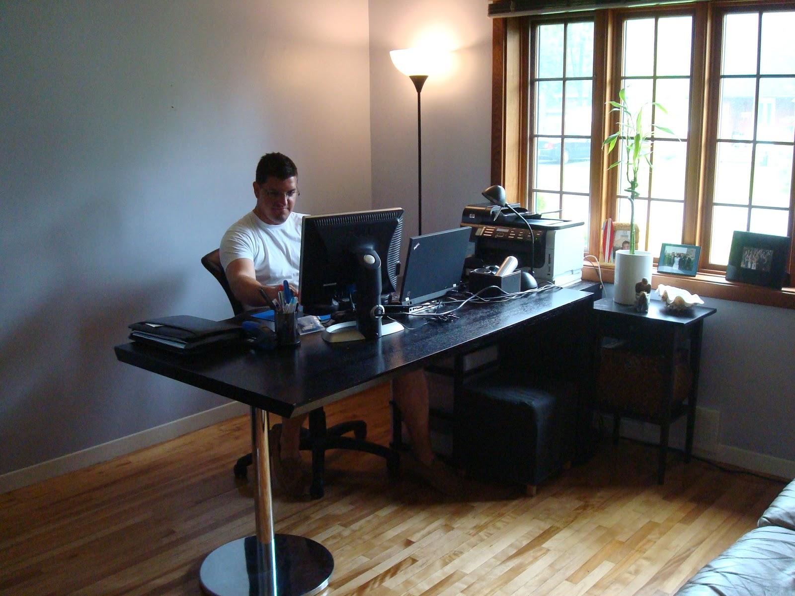 Zen Shmen A Proper Home Office