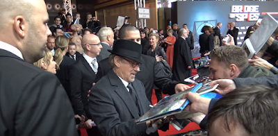 steven spielberg bridge of spies premiere