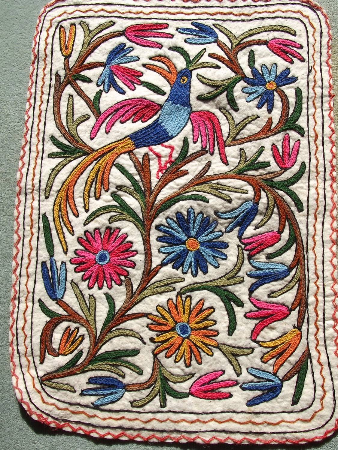 Handicrafts of india namdas and gabba rugs exotic