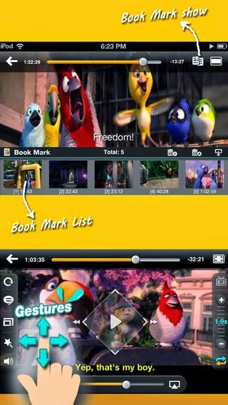 تطبيق مجاني لتشغيل جميع صيغ الصوت والفيديو للأيفون والايباد وأنظمة iMPlayer 1.3.0 iOS