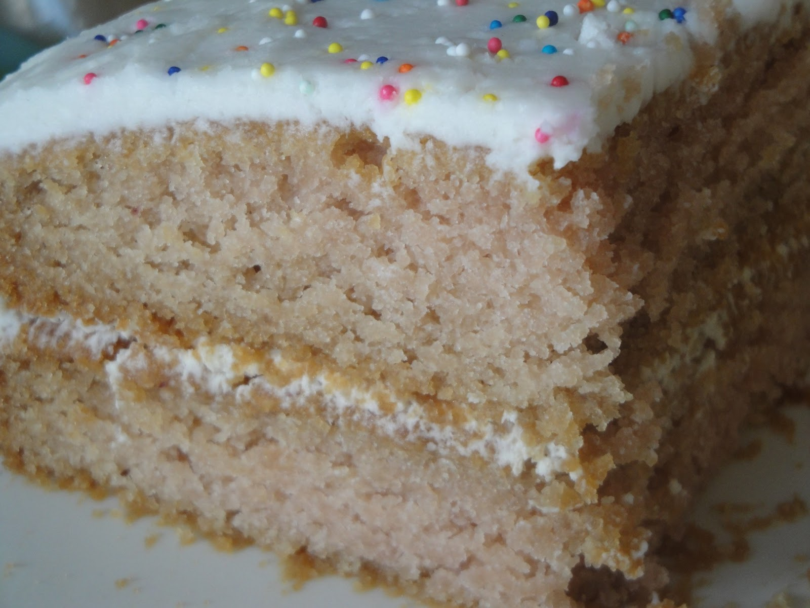 Gluten Milk Egg Free Cake Recipe