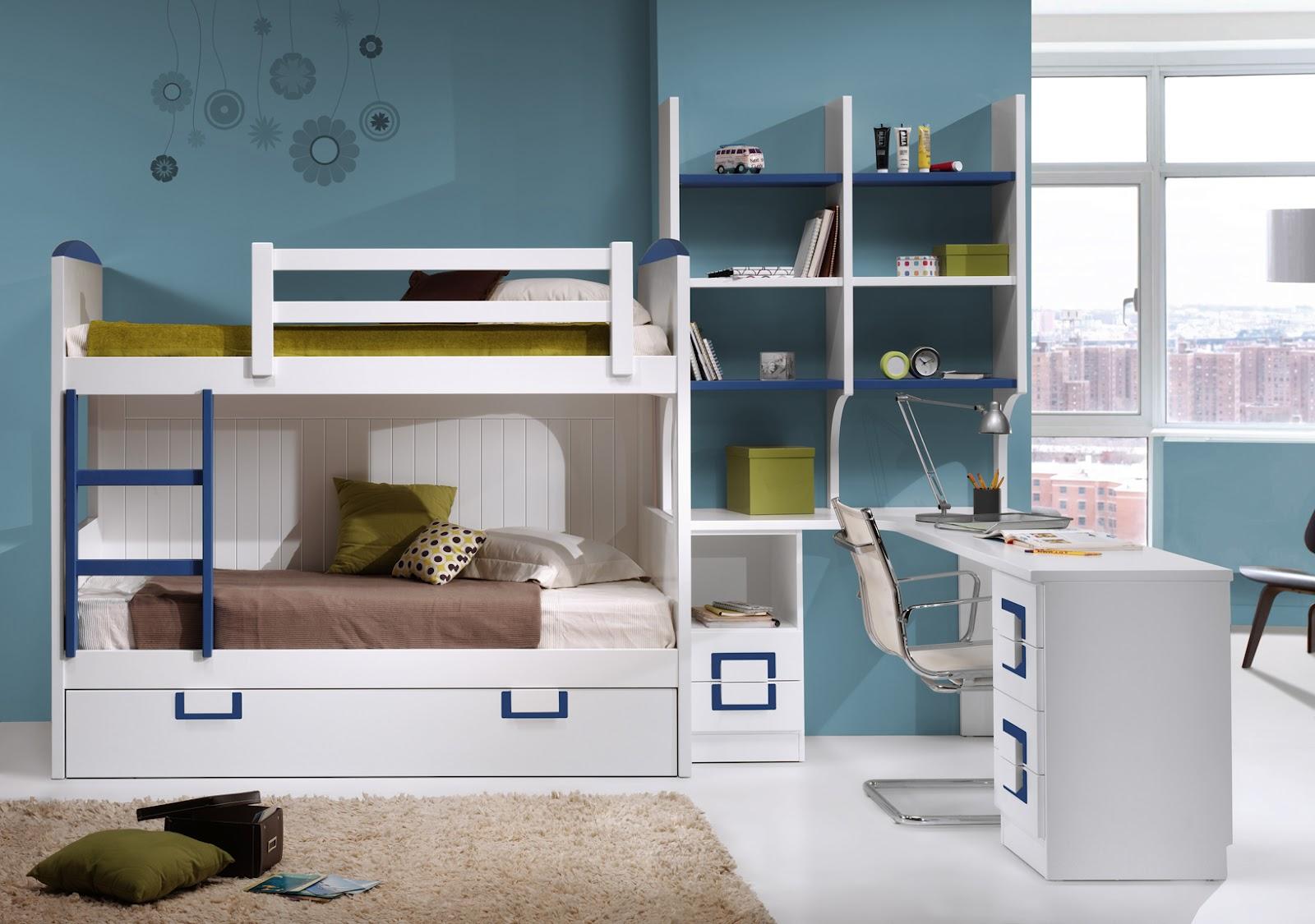 Camas tren literas tren literas fijas for Dormitorios infantiles y juveniles