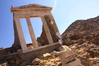 Sanctuary of Syrian Gods in Delos Island