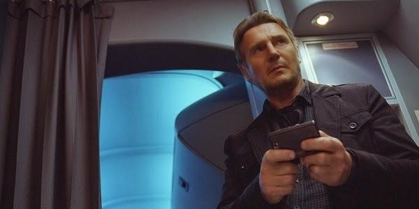 Liam Neeson em SEM ESCALAS (Non-Stop)