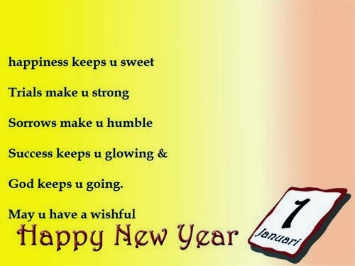 Best New Year Clip Art SMS 2015