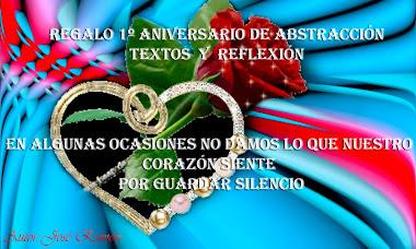 REGALO ANIVERSARIO BLOG  ABSATRACCION TEXTOS Y REFLEXION