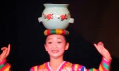 Little Beautiful Girl's Solo Dance with Pot Property
