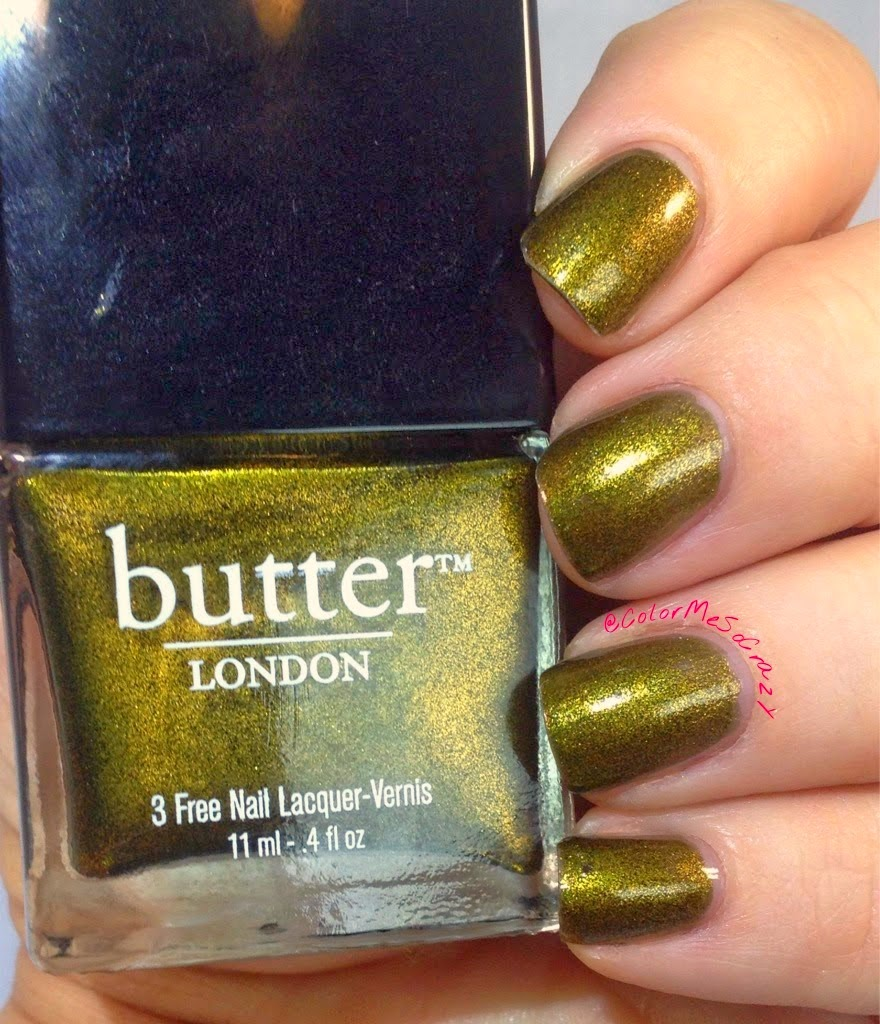 Butter London Wallis for The Nail Challenge Collaborative presents Untrieds