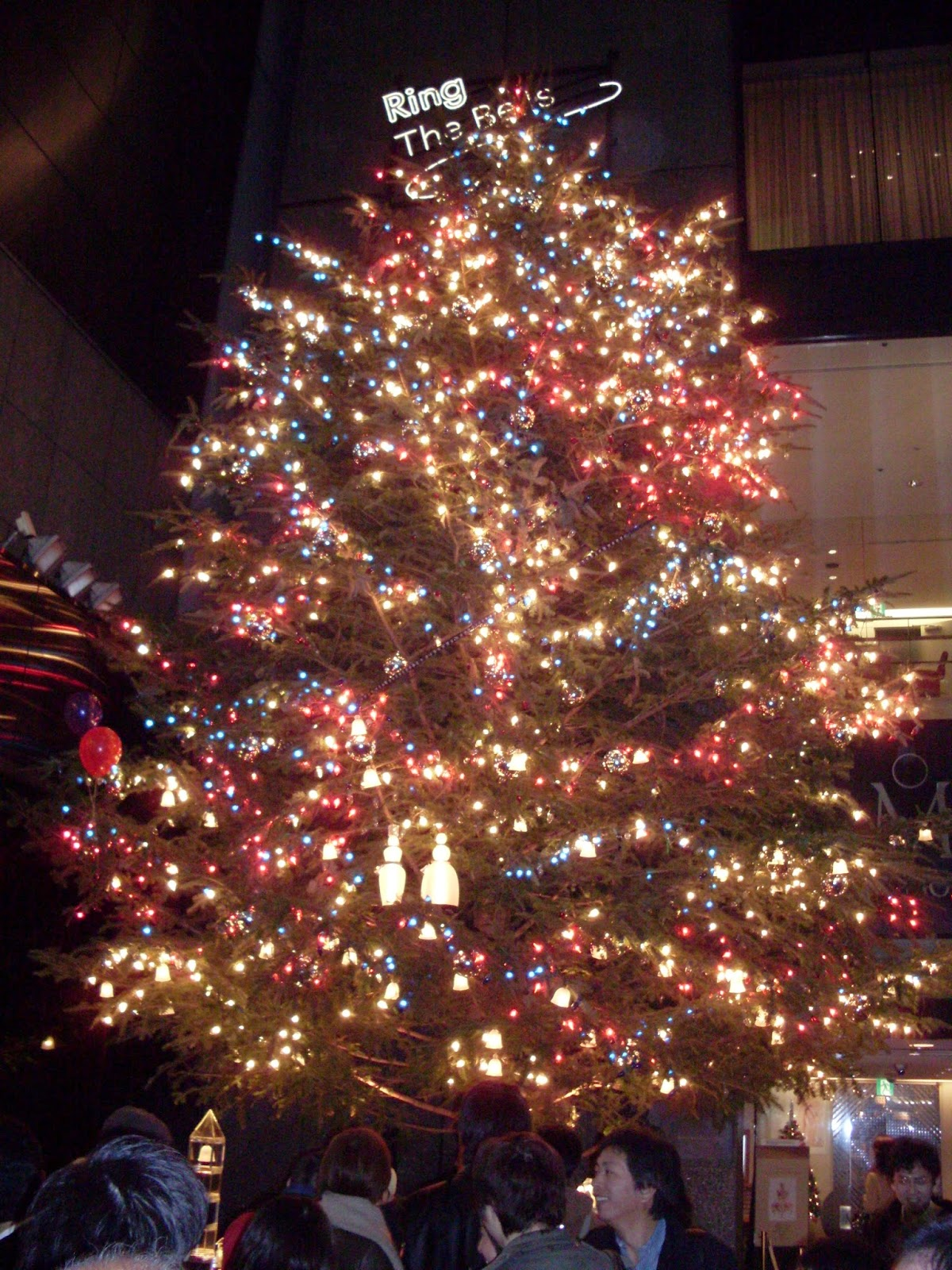 Christamas tree Japan