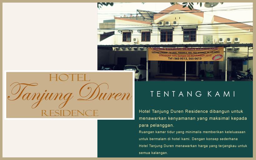 Beginilah Penampakan Luar Hotel Tanjung Duren Residence Mirip Rumah Kost Kostan Bukan